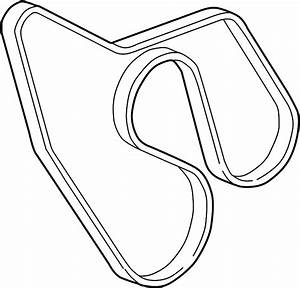 Gmc Savana 1500 Serpentine Belt - 12564763