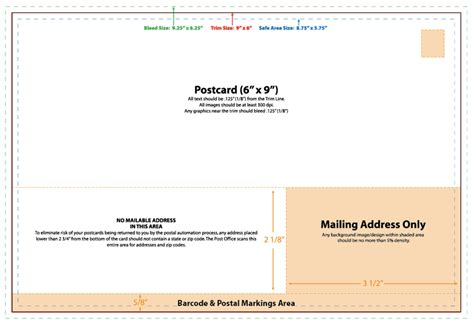 usps postcard template 8 5 x 5 5 custom designs with affordable prices