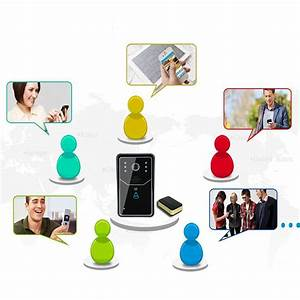 Ennio Sywifi001 Doorbell Wireless Smart Video Doorbell