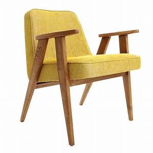 Fauteuil En Bois : fauteuil jaune la couleur intemporelle et tendance ~ Teatrodelosmanantiales.com Idées de Décoration
