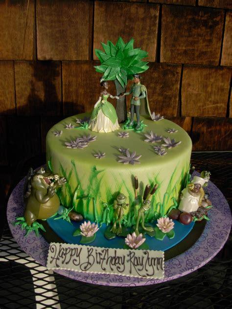 disney princess   frog birthday cake childrens