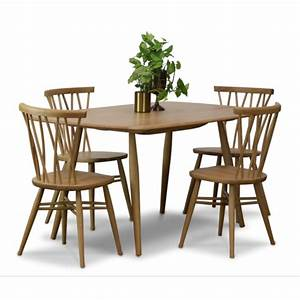 Halmstead, -, Handcrafted, Dining, Table, And, 4, Chairs