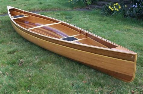 Scout Boats Wood by Of Building A Cedar Canoe Wooden