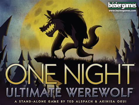 night ultimate werewolf review jesta tharogue
