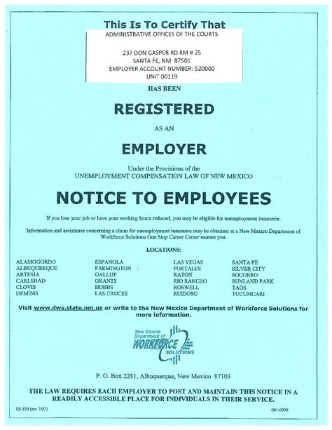 We won't sugarcoat it—being without health coverage is never a good. Free Unemployment Insurance Labor Law Poster 2020