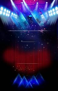 Black, Stage, Star, Poster, Stage, Effects, Starlight