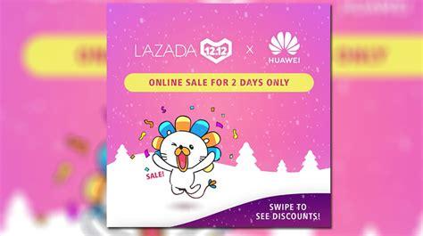 huawei joins lazada  sale  discounts  select