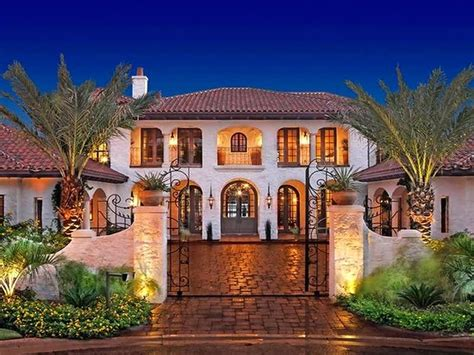 spanish mediterranean house plans traditional colonial style elegant home mission revival kerala
