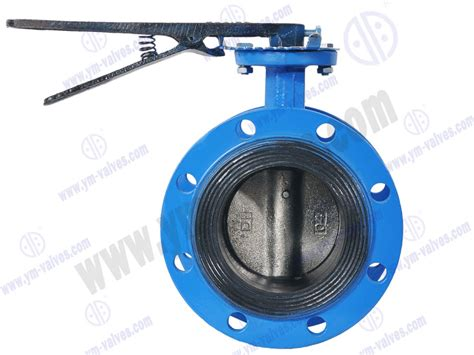 Handle Flange Type Soft Seal Butterfly Valve,soft Seal