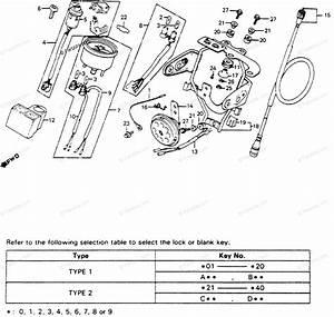 Honda Motorcycle 1984 Oem Parts Diagram For Speedometer