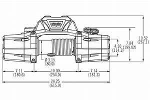Warn Zeon 10 Multi-mount Portable Winch