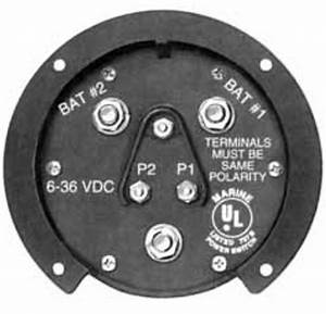 Cole Hersee M750 Battery Selector Switch