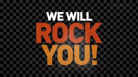 We Will Rock You M2film