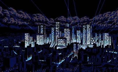 Bit Background Gifs Animation Wallpapers Glitch Cyberpunk