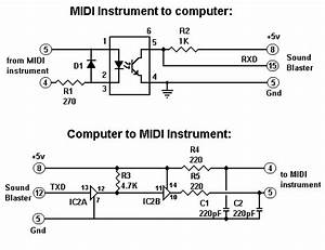 sb2 midi With gameport to usb wiring diagram