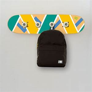 Porte Manteau Chambre : skateboard d coration pour chambre d 39 ado skateboard porte manteau ~ Farleysfitness.com Idées de Décoration