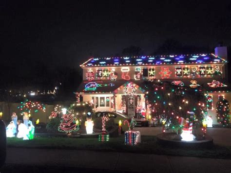 map  christmas light displays  long island