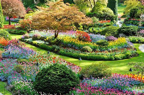 gardens butchart victoria canada bc columbia british attractions