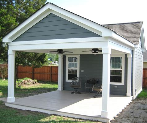Garage Plans With Porch by Garage With Porch Outbuilding With Covered Porch