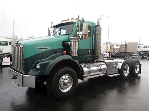 kenworth truck cab 2006 kenworth t800 day cab truck for sale 632 000 miles