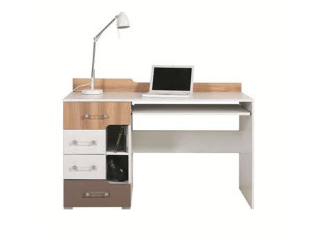 bureau en bois pas cher bureau ado en bois pas cher bureau avec support clavier