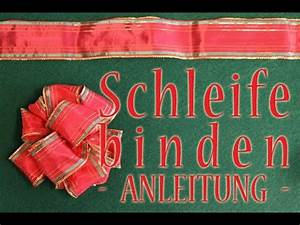 Geschenk Schleife Binden : gro e geschenkschleife binden anleitung youtube ~ Orissabook.com Haus und Dekorationen