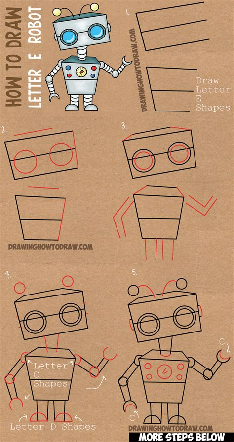 Drawing Robots Archives  How To Draw Step By Step Drawing