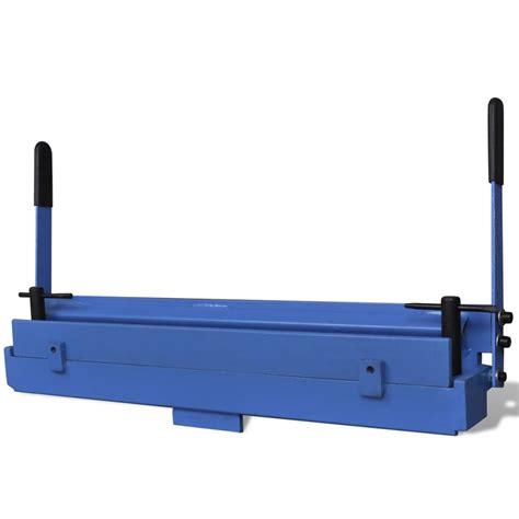 manually operated sheet metal folding machine 630 mm