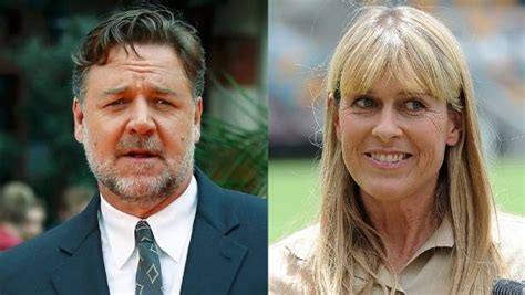 russell crowe terri irwin dating rumours completely