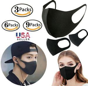 lot washable earloop masks anti dust cycling mouth face