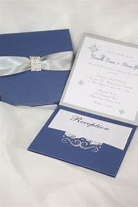 wedding invitation royal blue and silver wedding invitation With samples of silver wedding invitations