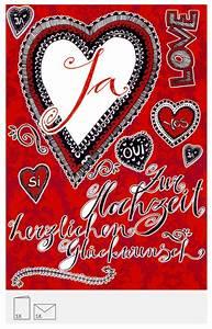 Karte Zur Hochzeit : karte zur hochzeit originelle hochzeitskarte ~ A.2002-acura-tl-radio.info Haus und Dekorationen