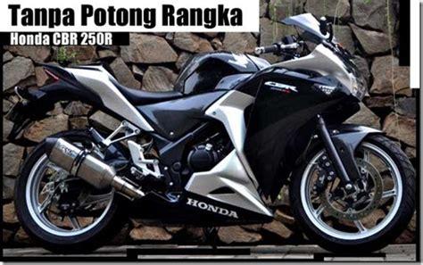 Cbr 250r Modification by Modification Honda Cbr 250r 2011 Black