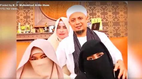 istri pertama ungkap identitas istri ketiga ustad arifin ilham seleb tempo co