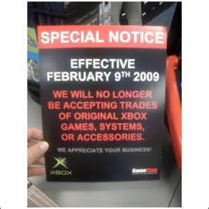 gamestop   original xbox trade ins  february