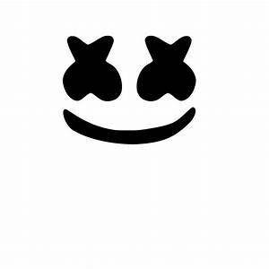 Marshmello Face Decal Sticker eBay