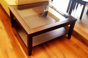 The best square coffee table with glass top storage inside for Coffee table with storage and glass top
