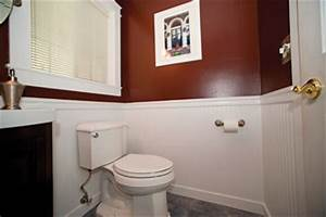 installing wainscot in a powder bath extreme how to With installing wainscoting in bathroom