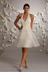 Short Halter Wedding Dresses Styles Of Wedding Dresses