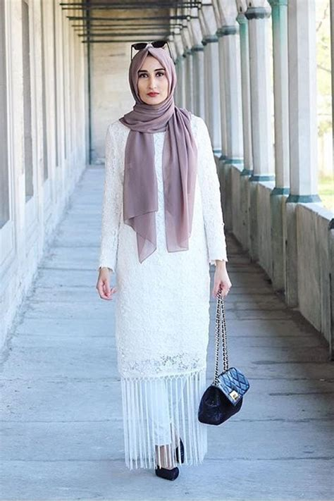 casual hijab dresses    fashionable spring style