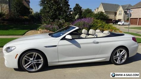 Bmw 650i For Sale by 2013 Bmw 6 Series Convertible For Sale In United States