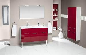 Implantation Salle De Bain : meuble salle de bains prefixe porte 120cm aquarine ~ Dailycaller-alerts.com Idées de Décoration