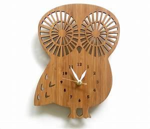 7, handmade, wall, clocks, designs, , ideas