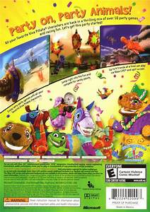 Viva Piñata: Party Animals (2007) Xbox 360 box cover art ...
