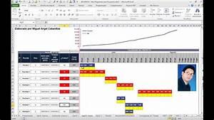 Diagramas De Gantt Con Excel Para Proyectos