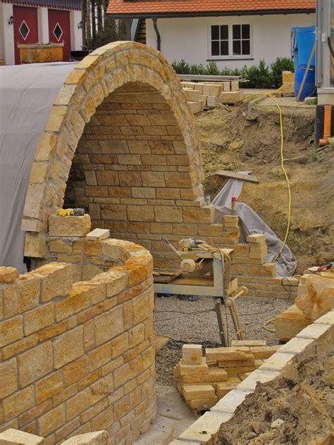Natursteinmauer Trockenmauer Mauersteine Steinmauer Garten