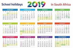 PRINT IT SA39s School Holidays 2019 Calendar Parent24