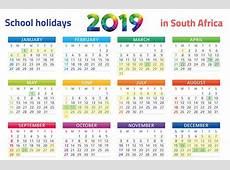 PRINT IT SA's school holidays 2019 calendar Parent24