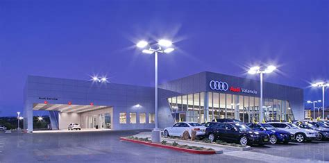 lusardi builds commercial construction keyes audi of valencia car dealership san diego county