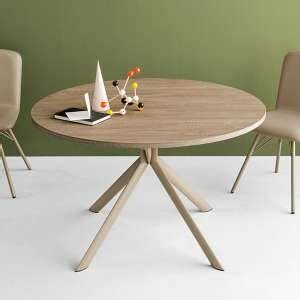 Table Ronde Extensible Pied Central : table ronde 4 ~ Teatrodelosmanantiales.com Idées de Décoration
